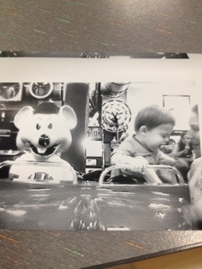 Firsts: Chuck E Cheese and Pants Up